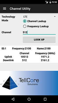 Wireless Channel Utility User Interface